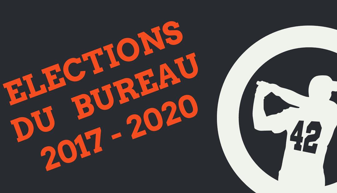 Elections du Bureau