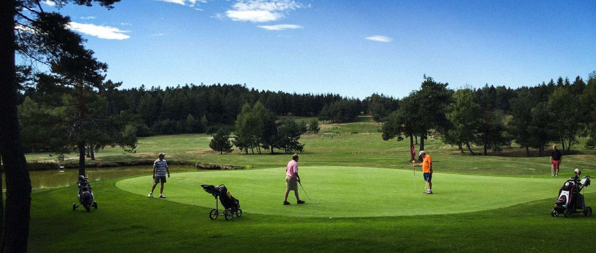 Golf Chambon sur Lignon