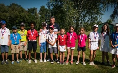CHAMPIONNAT DE LIGUE U8 – U10 – 2018 – Golf du Forez