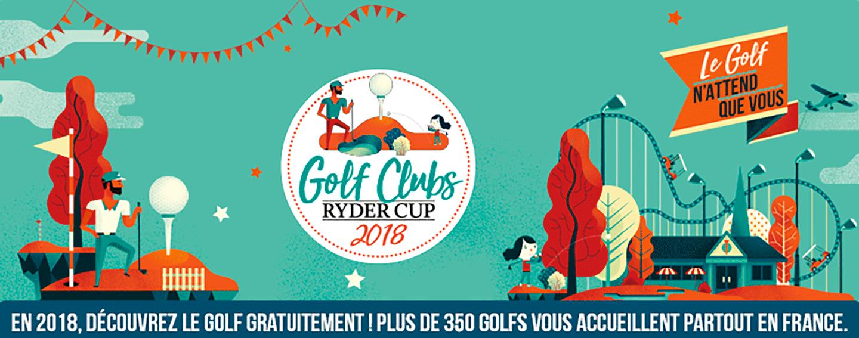 Golf Tour Ryder Cup Banniere