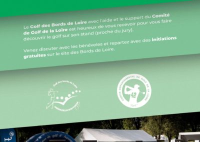 Affiche Portail Rouge Golf 2