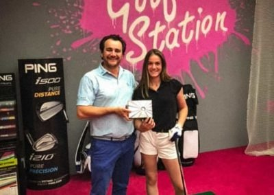 Charline Trou En Un Golf Station Finale Green Cup 2019 1