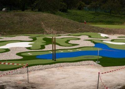 Golf De Saint Etienne Inauguration Mini Golf 1