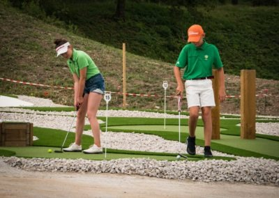 Golf De Saint Etienne Inauguration Mini Golf 11