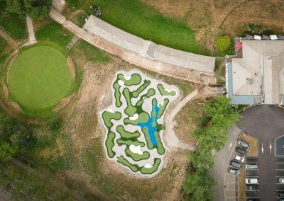 Golf De Saint Etienne Mini Golf 2