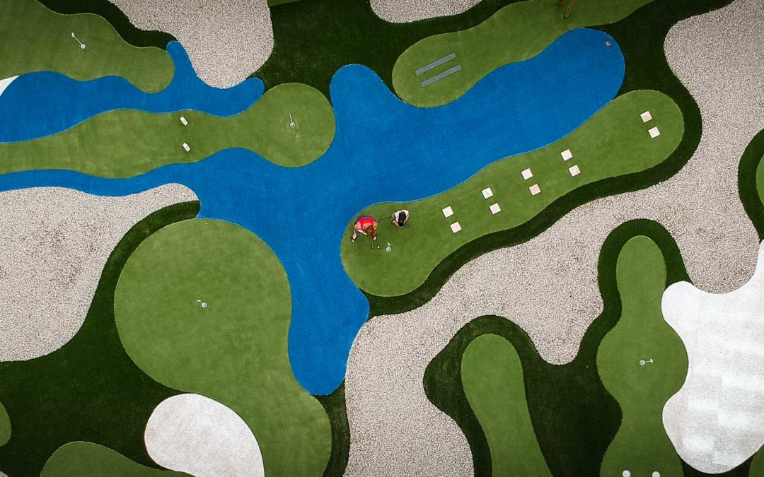 Mini-Golf à Saint Etienne – Inauguration