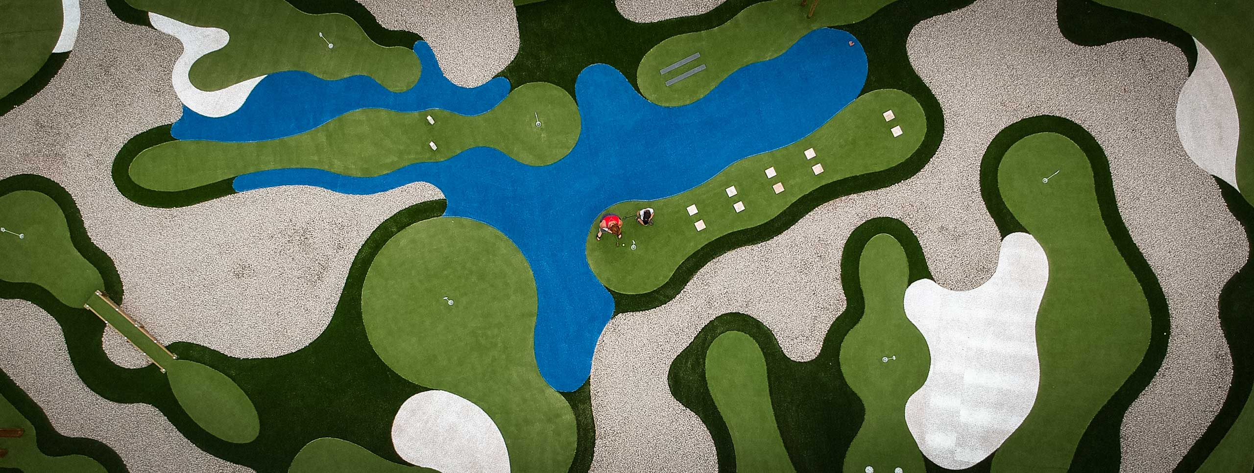 Golf De Saint Etienne Mini Golf 4