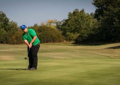 Championnat De Double De La Terre Du Milieu Golf Des Etangs 2019 T1 18
