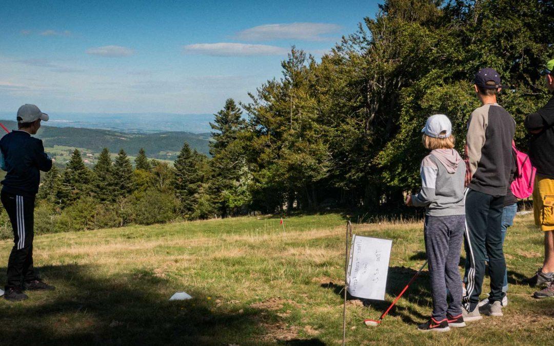 Le Golf au Chalma Sports Nature Festival